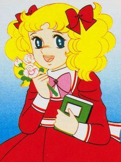 Candy Candy anime...i grew up reading this comic...