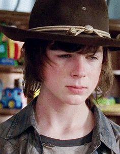 Walking Dead Girl, Carl The Walking Dead, Fear The Walking, Chandler Riggs, Carl Grimes, The Walkind Dead, 17 Kpop, Child Actors, Stuff And Thangs