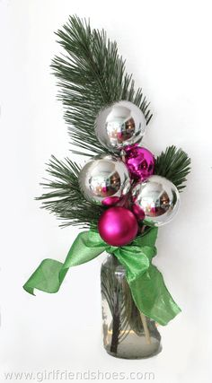 Easy Christmas Centerpiece Ideas | Girlfriends Are Like Shoes