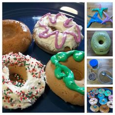 Happy Donut Day! Kitchen Kids Donut recipe Doughnut Cinnamon Cocoa how to make