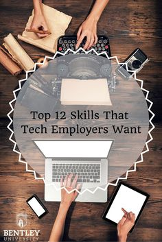 Check out the top skills that tech employers are looking for in their employees.