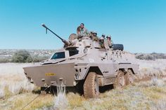 Ratel with 20mm gun