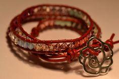 Chan Luu wrap bracelet with real swarovski by Batinetteshop