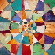 James Wyper : Entry Point, 2012 acrylic on birch, private collection / Sacred Geometry Geometric Painting, Geometric Art, Abstract Art, Art Et Illustration, Art Moderne, Art Abstrait, Art Design, Quilt Design, Design Color