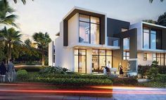 Mega Villas, a collection of homes with ample room for families to grow and prosper. Spread across three floors, each of these five-bedroom homes comes with enough space for each family member.