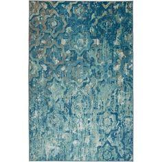 Contemporary Style, Mid-century Modern, Modern Living, Mohawk Home, Trellis Pattern, Aqua Area Rug, Modern Area Rugs, Online Home Decor Stores, Carpet Runner