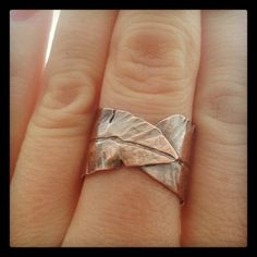 Copper Feather Ring by JanuaryJewelryShop, $30.00
