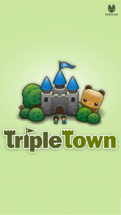Triple Town -- I love this app.  Put items together into groups of 3 -- which then can merge into bigger groups of 3's.  Problem solving but lots of fun too!