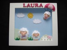 Infant Play, Fabric Combinations, Hand Applique, Nursery Decor, Sheep, Astrology, Portraits, Child Room, Kids Rooms