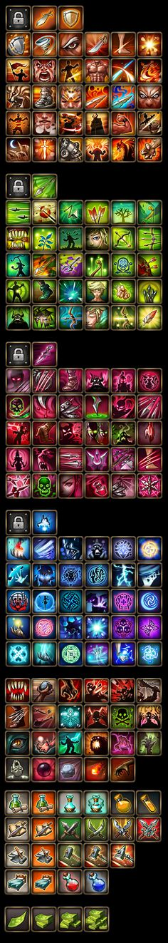 78 Best Spell icons images in 2018 | Game interface, 2d game