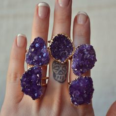 Bohemian Designs For The Modern Day Gypsy Crystal Healing Chart, Valentines Sale, Halloween Sale, Amethyst Cluster, Amethyst Stone, Stackable Rings, Galaxy, Bohemian Jewelry, Jewelry