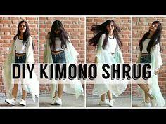 Easy Kimono DIY | 4 Steps - YouTube