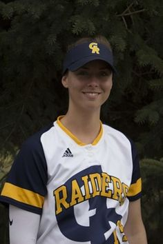 Grand Rapids Community College softball player Danielle Schutte was named to the NJCAA's 2017 All-Academic Third Team.