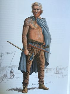 Rus Viking based on the description by Ibn Fadlan after his encounter in 922 CE.