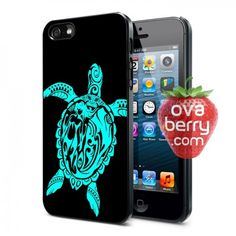Tribal Sea Turtle iPhone and Samsung Galaxy Phone Case