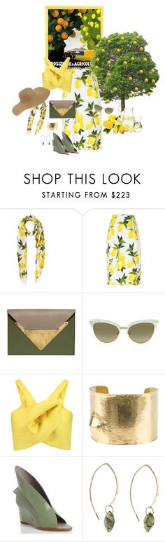 """""""It all started with a song..."""" by grownuppaperdolls ❤ liked on Polyvore featuring Dolce&Gabbana, Dareen Hakim, Gucci, Delpozo, Wouters & Hendrix Gold, Abcense, Melissa Joy Manning and Tildon"""