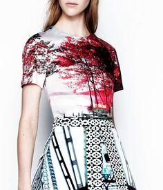 Digital - Print and Pattern - Mary Katrantzou   Resort 2014
