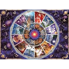 Astrology – Jigsaw Puzzle by Ravensburger – Astrologie 300 Piece Puzzles, Puzzle Pieces, Puzzle Ravensburger, Tarot, Contexto Social, Puzzle Shop, Signs, Tool Design, Constellations
