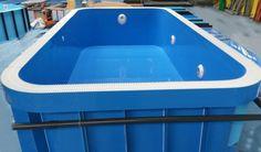 Plastový bazén Prince, zaoblené rohy