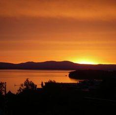 Can't beat a Lake Champlain sunset
