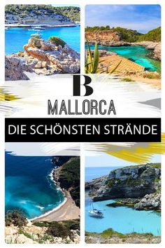 Mallorca: Die 12 schönsten Strände – Tipps für den Traumurlaub Mallorca's most beautiful beaches – tips for a dream vacation. Sparkling water as far as the eye can see, warm sand between your toes: these are our 12 favorite beaches on Mallorca. Travel Pictures, Travel Photos, Hotel Mallorca, Beach Hacks, Africa Destinations, Les Continents, Road Trip Hacks, Most Beautiful Beaches, Italy Vacation