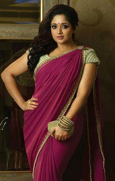 Kavya Madhavan in Saree- Beautiful Images Ever! Beautiful Girl Indian, Beautiful Saree, Beautiful Indian Actress, Beautiful Gorgeous, Beautiful Ladies, Beautiful Images, Beautiful People, Indian Beauty Saree, Indian Sarees