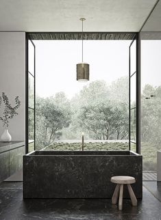 Find bathroom ideas for bathroom remodel and bathroom modern, bathroom design, bathroom vanity, bathroom inspiration and more with before and after bathrooms Read Modern Luxury Bathroom, Modern Bathtub, Bathroom Design Luxury, Minimalist Bathroom, Beautiful Bathrooms, Luxurious Bathrooms, Freestanding Bathtub, Bath Design, Concrete Bathtub