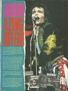 Adam Ant, Get To Know Me, Dandy, My Boyfriend, Singer, Movie Posters, Film Poster, Dandy Style, My Friend