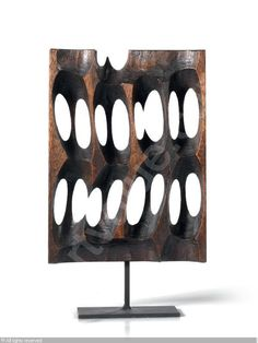 TOYOFUKU Tomonori, *1925 (Japan). Fori - in wood - sold by Farsettiarte, Prato, on Saturday, November 30, 2013