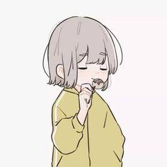 Artist: @momot333 on twitter Chibi Couple, Anime Love Couple, Cute Anime Couples, Anime Couples Manga, Cute Anime Profile Pictures, Matching Profile Pictures, Cute Anime Pics, Cute Anime Character, Character Art