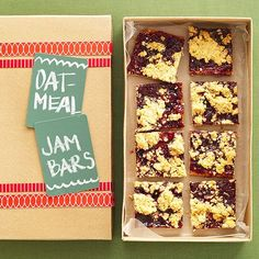 Oatmeal Jam Bars