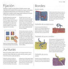 """"""" Mossita Bella Crochet y Tejido """": Granny Square No. 19 al 30, Como unir granny y puntilla!!!"""