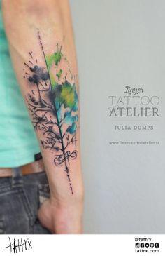 julia dumps #ink #tattoo #watercolor