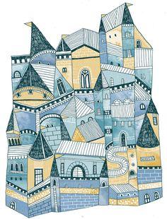 Magical Homes - Eilidh Muldoon | Eilidhmuldoodles