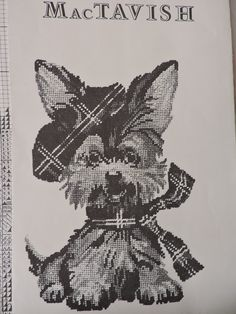 MacTavish Scottie Jean McIntosh Dog Petit Point Needlepoint Chart Only Vintage No. M-38 Cute Little Puppy Love Made in Canada Chart Only Sewing Patterns For Kids, Vintage Sewing Patterns, Cute Little Puppies, Puppy Love, Dog Chart, Needlepoint Designs, Raggedy Ann And Andy, Scottie Dog, Cross Stitch Designs