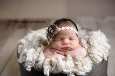Newborn Nest Headband by PetuniaandIvy on Etsy, $20.00