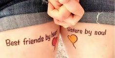 Image result for Tattoos that represent best friends