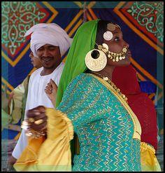 Africa | A Nubian bride, dancing at her wedding | ©Ernie Reyes