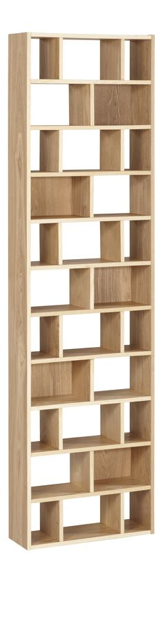 CLEO CD and DVD rack Natural Wood