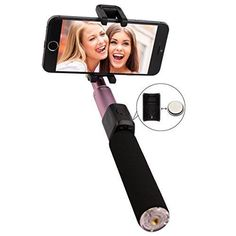 NEW! Arrela Selfie Stick Integrated Foldable Selfie Stick with Detacha...NO TAX #arrela
