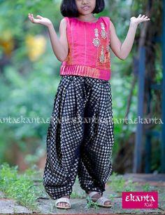 Kids Dress Wear, Little Girl Dresses, Kids Wear, Girls Dresses, Kids Indian Wear, Kids Ethnic Wear, Kids Party Wear, Simple Kurti Designs, Baby Dress Design