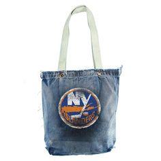 New York Islanders NHL Vintage Denim Shopper