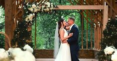 Memphis Botanic Gardens wedding arch floral elegance