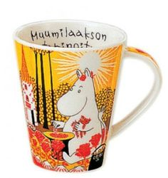 Yamaka Moomin Valley Moomin Big Mug Cup yellow Made in Japan New
