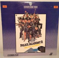 POLICE ACADEMY 2 THEIR FIRST ASSIGNMENT Laserdisc LD Steve Guttenburg David Graf