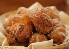 Best Apple Fritters - no yeast I toss in glaze ..1/2 c. powdered sugar, a few tbl milk & a few drops of vanilla