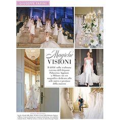 Giuseppe Papini fashion show onn Elle wedding