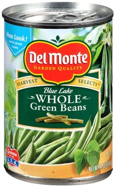 Del Monte Whole Green Beans, 14.5-Ounce (Pack of 8) * More infor at the link of image  : Fresh Groceries