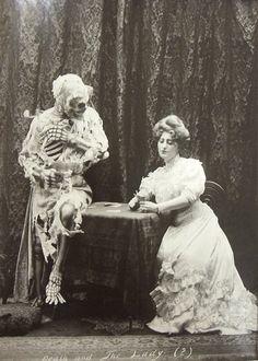 "Morbid Anatomy: ""Death and the Lady,"" Vaudeville, Turn of the Century"