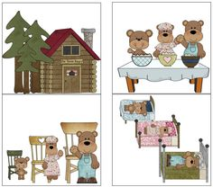 Goldilocks and the Three Bear activities.